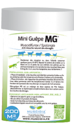 MG – Muscidifurax/Spalangia (Milieu sec : fumier, fientes..)